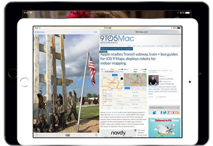 iPad için uzun zamandır beklenen bölünmüş ekran deneyimi iOS 9 ile gelebilir