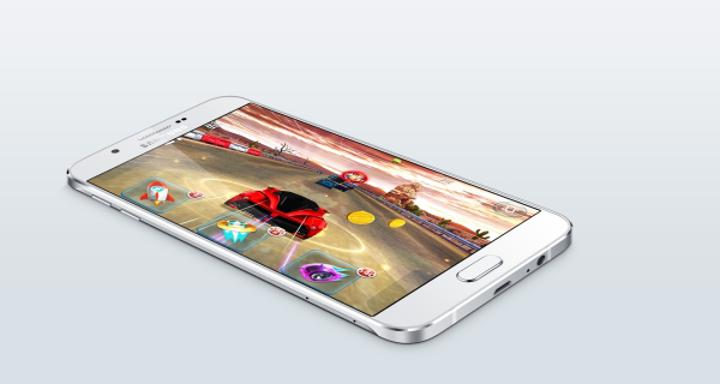 Galaxy A8 lanse edildi: Samsung'un en ince akıllı telefonu!