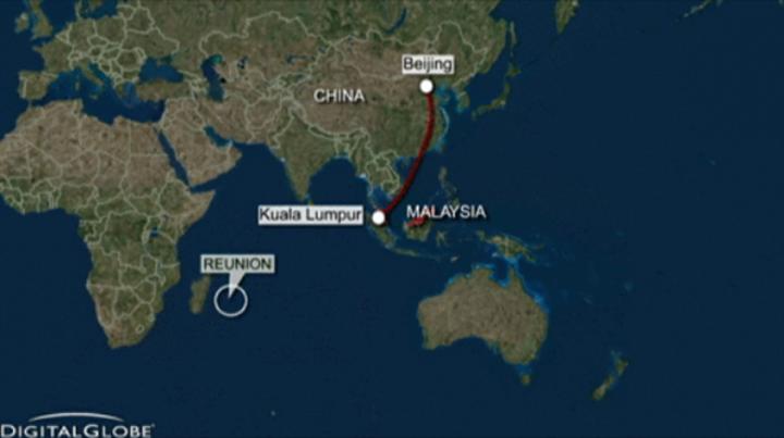Madagaskar yakınlarında bulunan uçak parçası geçen yıl kaybolan MH370'ye ait olabilir