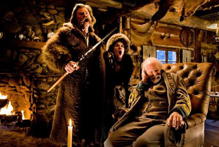 Tarantino'nun yeni filmi The Hateful Eight'ten ilk fragman