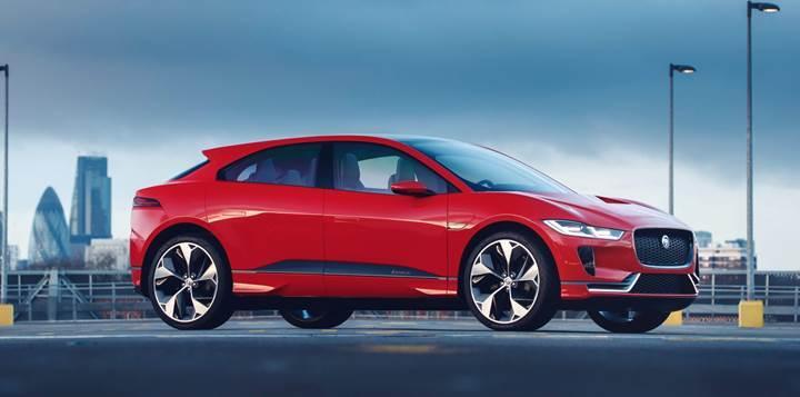 Tesla Model X'e rakip 500 km menzilli Jaguar I-PACE hazır