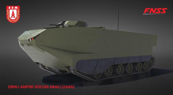 Helikopter gemisi için zırhlı muharebe aracı geliştirme sözleşmesi imzalandı