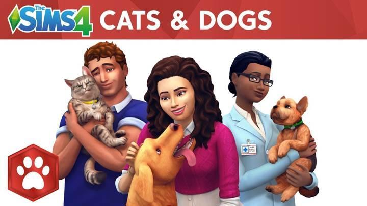The Sims 4'e yeni genişleme paketi geliyor: Kediler ve Köpekler