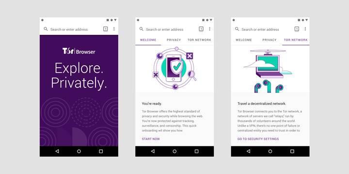 Tor Browser'ın Android versiyonu yayınlandı