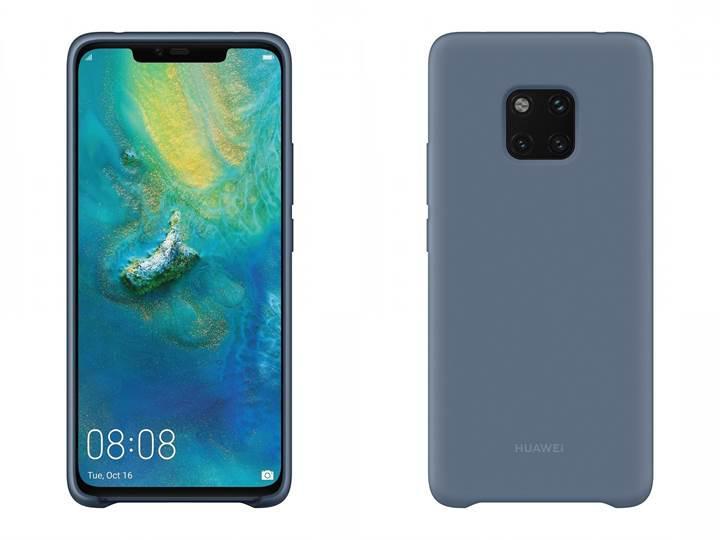Huawei Mate 20 Pro'nun resmi aksesuarları sızdı: Mate 20 Pro tasarımı kesinleşti