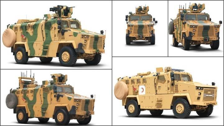 Güvenlik güçlerine zırhlı takviyesi: Kirpi 2
