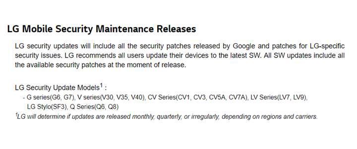 LG, V20 ve G5 modellerine güncelleme desteğini sonlandırdı