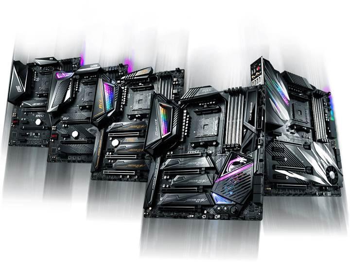 MSI yeni X570 anakartlarını duyurdu