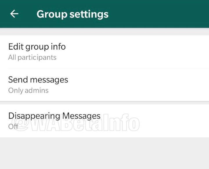 WhatsApp uygulamasına kendini imha eden mesaj özelliği geliyor