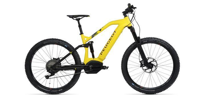 Peugeot, 140 km menzile sahip elektrikli dağ bisikletini tanıttı