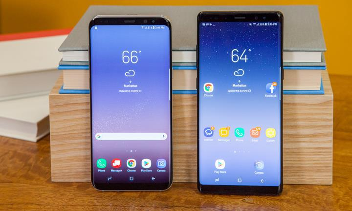Samsung Galaxy S8 ve Note 8 kullanıcılarına kötü haber: Android 10 yok