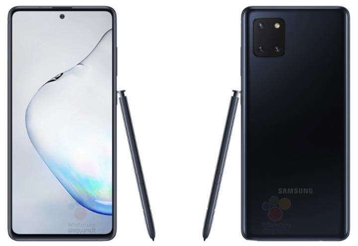 Galaxy Note 10 Lite resmi basın görselleriyle karşınızda