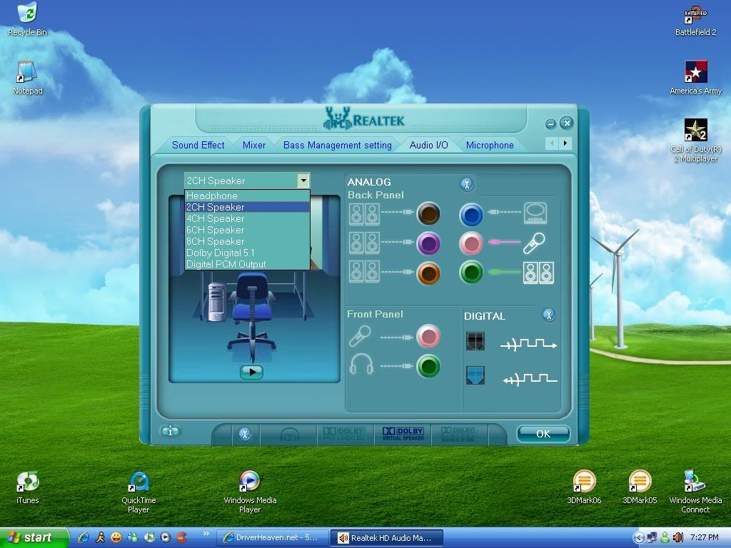 realtek high definition audio codec windows 7